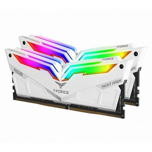 T-Force DDR4 16G PC4-25600 CL16 Night Hawk RGB 화이트 (8Gx2)