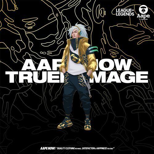 [LoL] True Damage x AAPE 야스오 반팔티